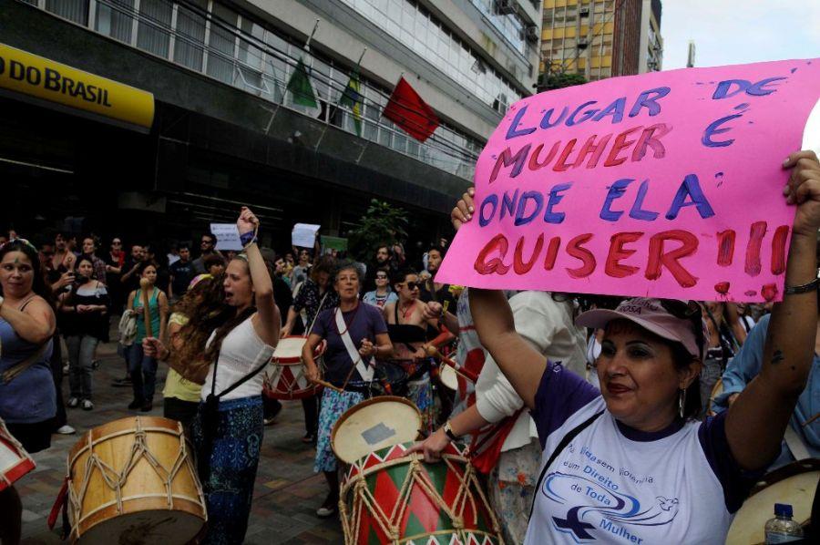 Basta das agressões machistas do PCO no movimento estudantil!
