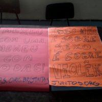 Chega de machismo e violência: Nota do Juntas! sobre o estupro de uma estudante em Lorena