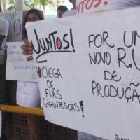 Por um RU de Qualidade Nós Protestamos