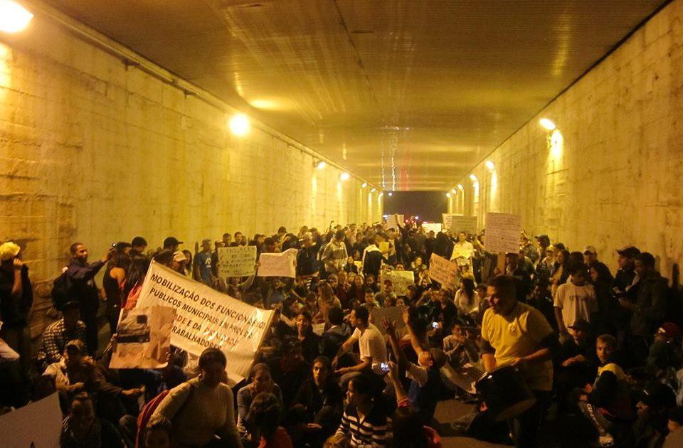Protestos no interior mostram solidariedade às manifestações