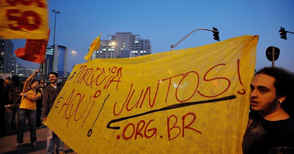 Contra o aumento da tarifa, São Paulo parou!