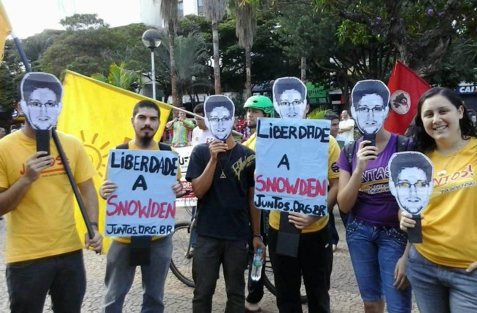 Campanha permanente pela liberdade de Edward Snowden