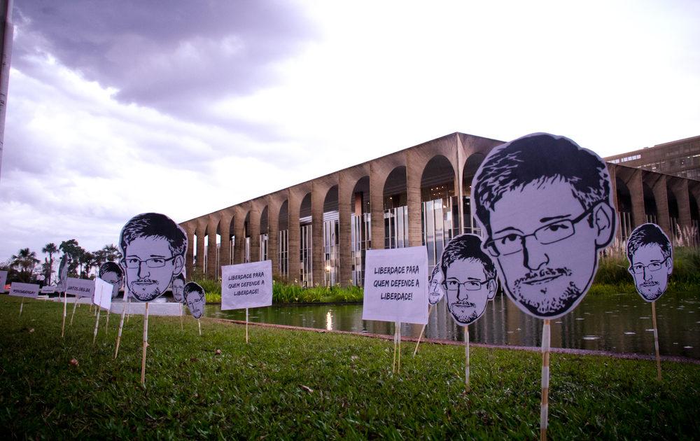18/07: Um dia de luta no Brasil por Snowden