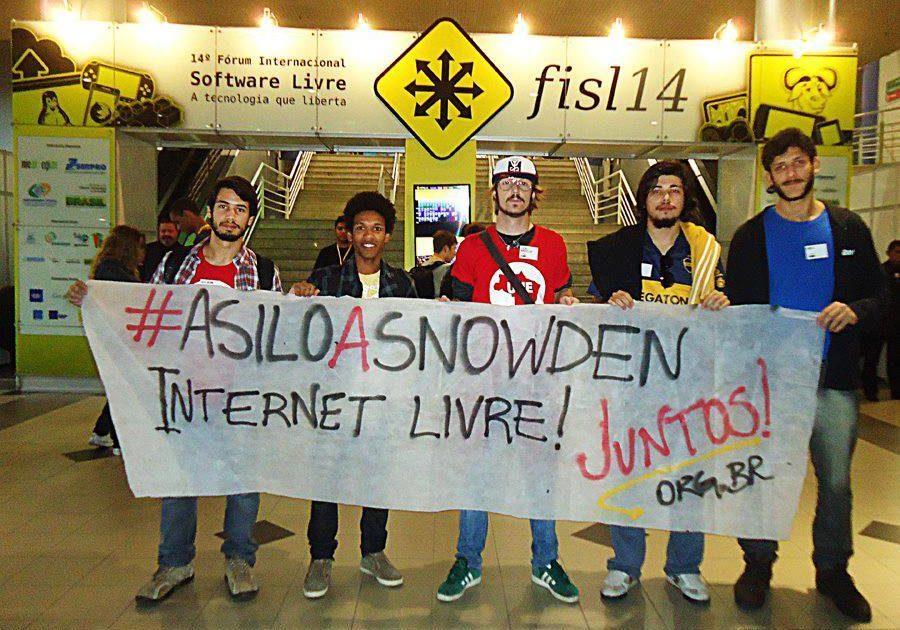 Estamos com Snowden! Pedido aceito na Venezuela, Bolívia e Nicarágua: nossa luta continua!