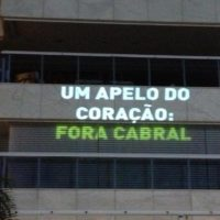 """Os muitos motivos do """"Fora Cabral"""""""