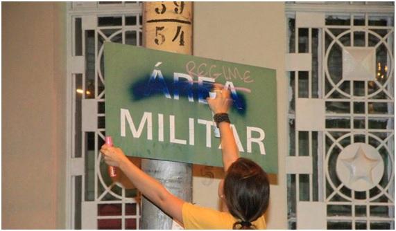 Em Recife, a resposta veio das ruas!
