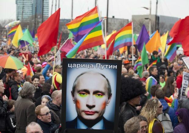 Juntos contra a homofobia, na Rússia e no Brasil