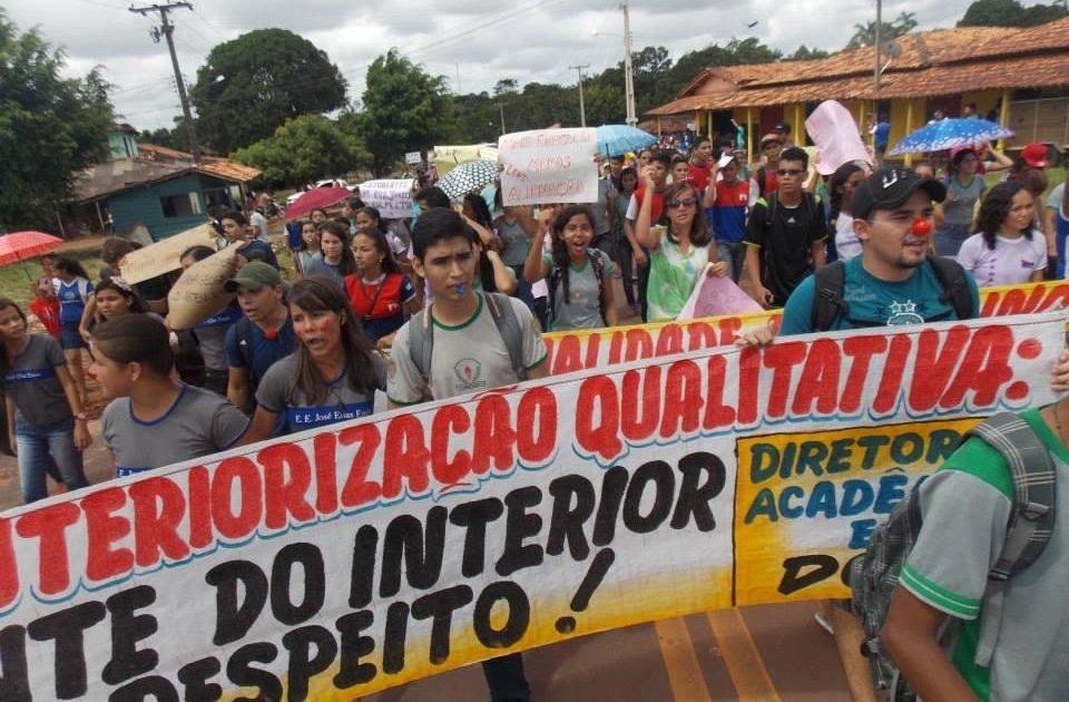 Campus da UEPA Igarapé Açu ocupado. Por uma interiorização de qualidade estamos Juntos!