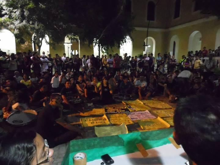 SOS UeVA: Estudantes em luta