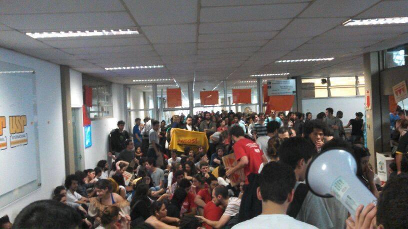 Ocupação da reitoria da USP: a luta pela educação vai tomar o estado!