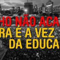 15 de outubro em defesa da educação em São Paulo