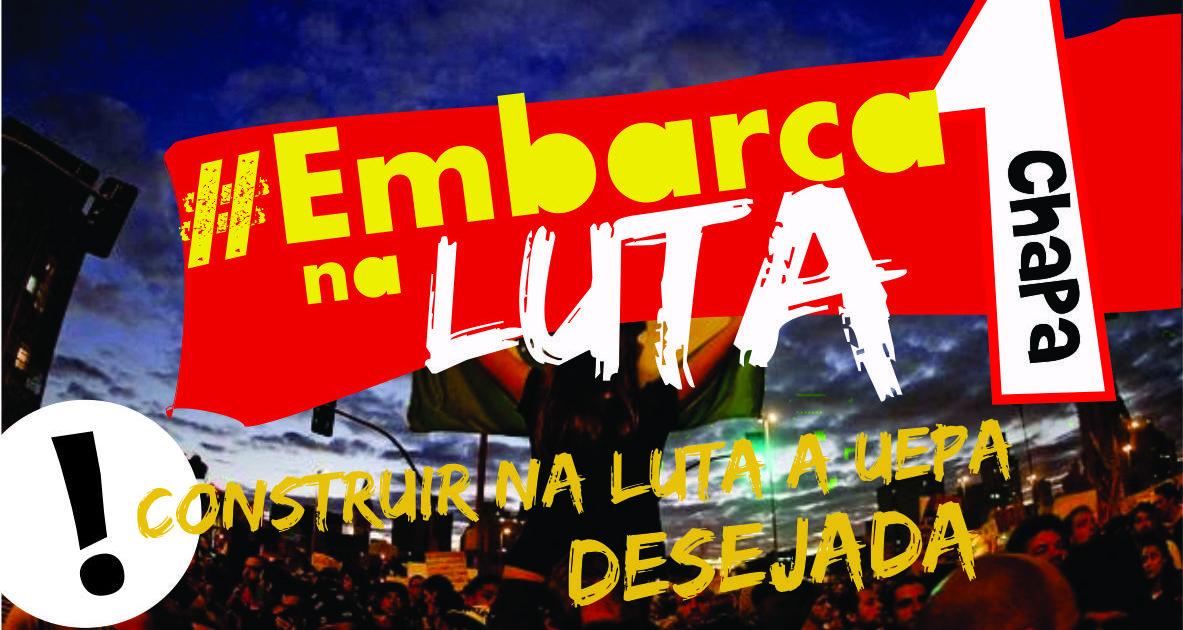 Embarca na Luta das eleições da UEPA