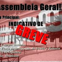 Já basta: Universidades estaduais do Ceará vão à luta