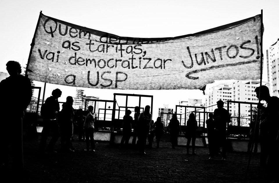 É hora de luta: juntos por diretas já na USP!