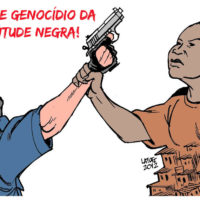 Nenhuma morte a mais. Chega de Extermínio da População Negra!