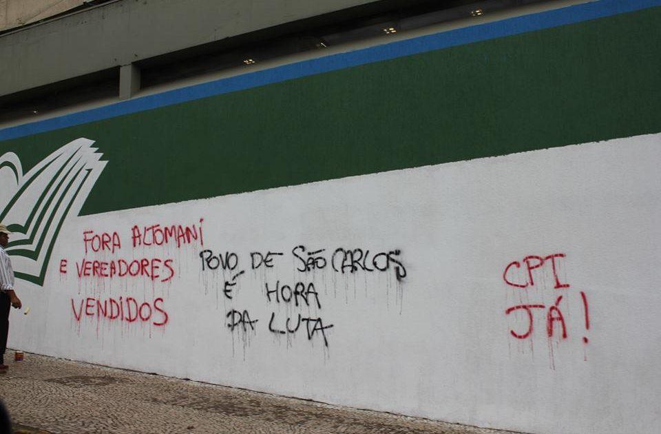 Dizem as paredes, diz o povo: São Carlos em luta