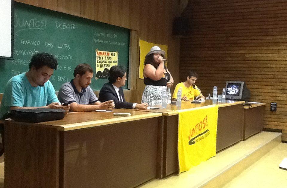 Juntos! USP debate democracia, repressão e direitos humanos com Leonardo Sakamoto