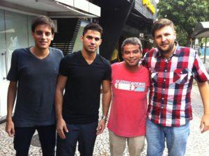Thiago Aguiar, David Miranda, Honório Oliveira e Rodolfo Mohr