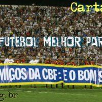 Carta aberta do Bom Senso FC à CBF
