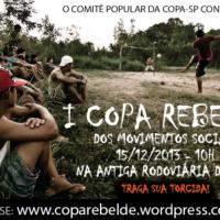 Juntos! participa da I Copa Rebelde dos Movimentos Sociais