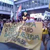 Começou 2014 nas ruas de Porto Alegre