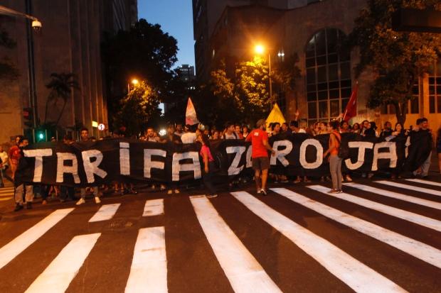 Belo Horizonte também está nas ruas. TARIFA ZERO JÁ!!