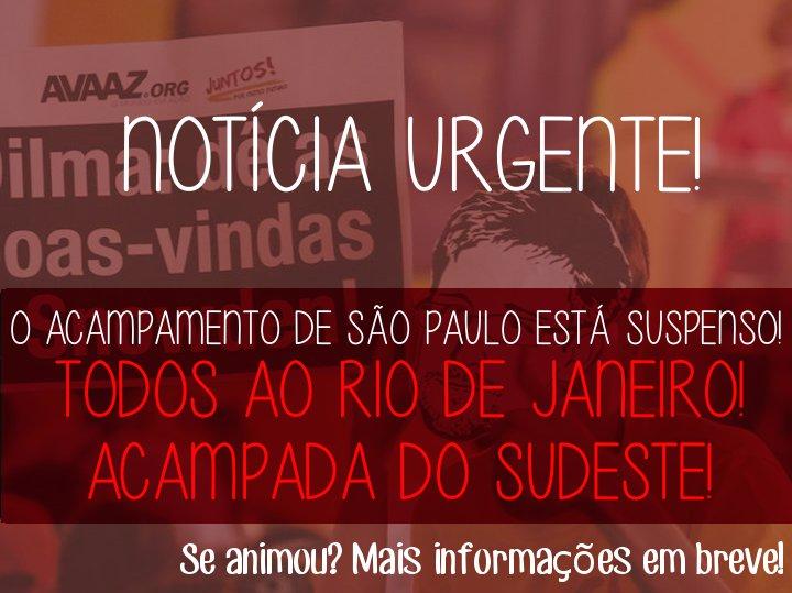 Uma grande surpresa vem aí: vamos todos ao Acampamento Sudeste do Juntos! no Rio de Janeiro