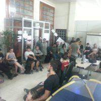 Acampada do Juntos-Sul manifesta apoio a ocupação da UNIPAMPA