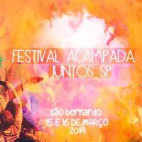 Programação do Festival Acampada do Juntos SP!