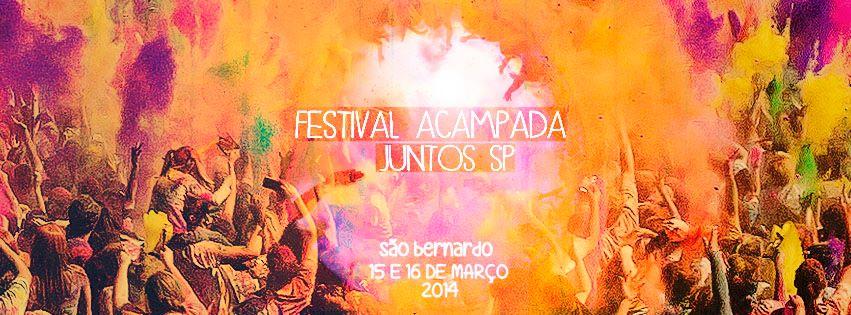 Inscreva-se para o Festival Acampada do Juntos! SP