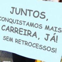 Greve dos trabalhadores das ETECs e FATECs: Juntos conquistamos mais!