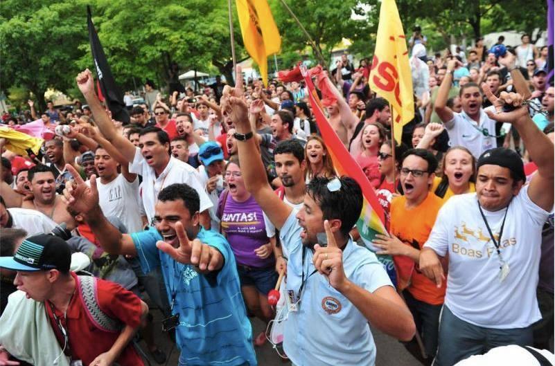 Juntos: lugar da juventude é nos piquetes ao lado dos trabalhadores!