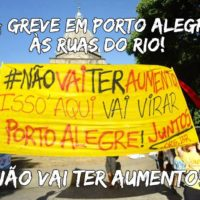 Isso aqui vai virar Porto Alegre!