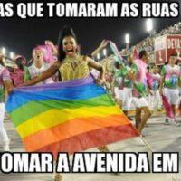Vai ter Beijaço Gay e Manifestações de Junho no Sambódromo Carioca