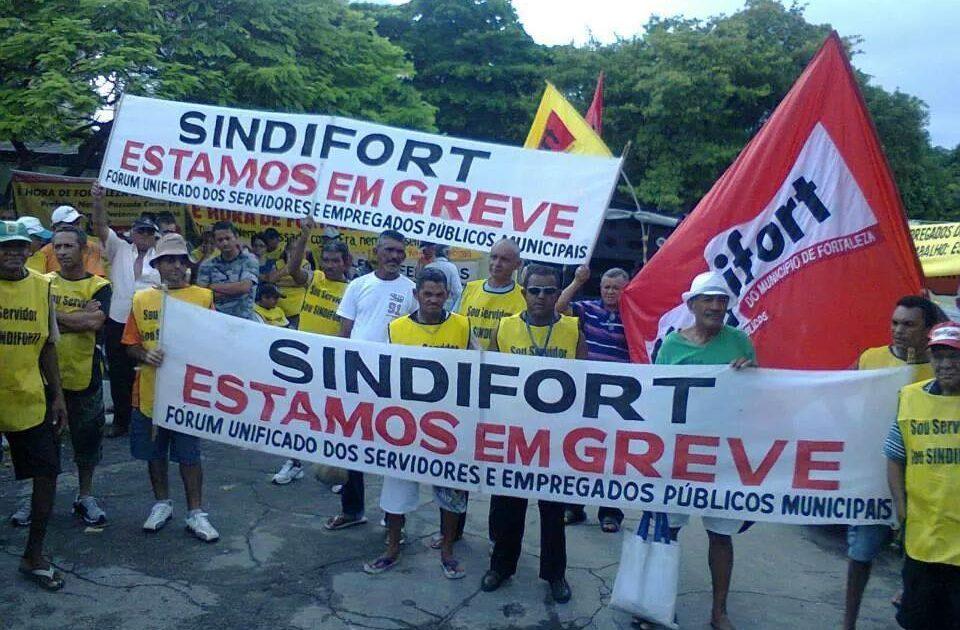 Nota de apoio à greve dos garis de Fortaleza: A coragem é contagiosa.