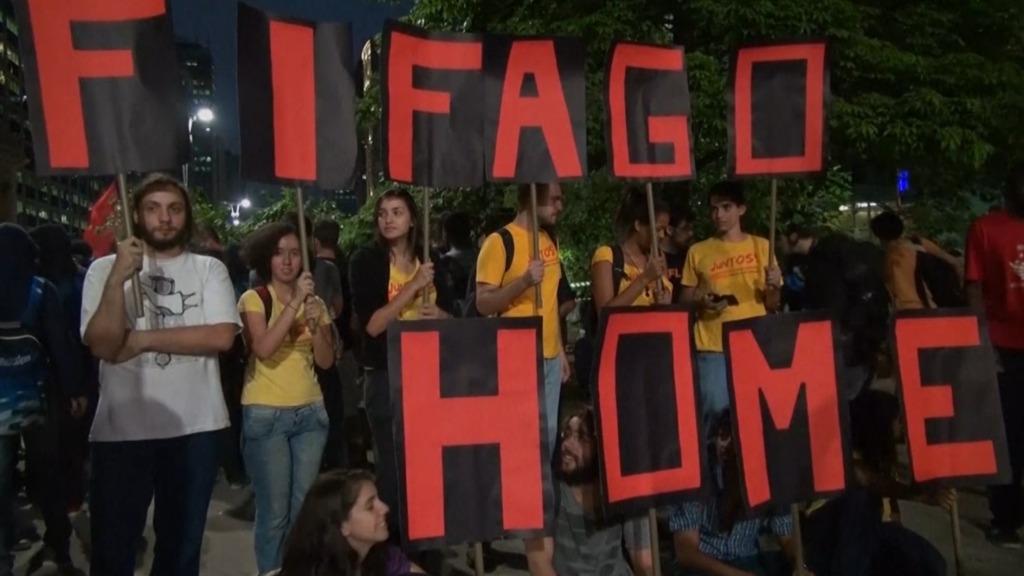 Blatter nos chamou de vagabundos, o agito vai vir na rua!