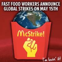 #15! Funcionários de redes de fast-food anunciam protestos em 30 países por aumentos salariais