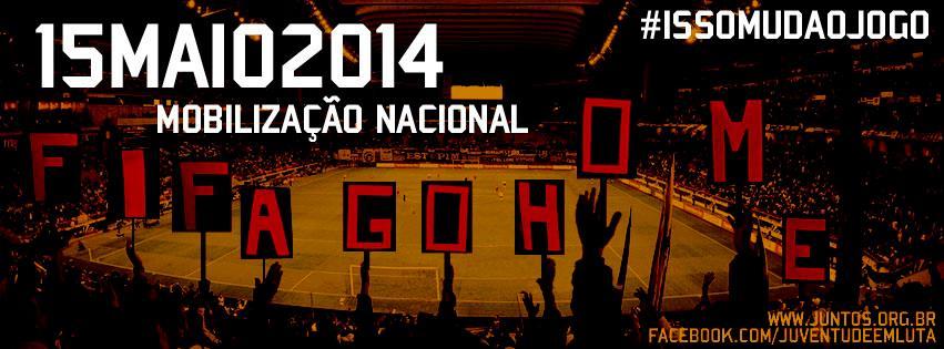 15-M, o Brasil em campo! Ganhar as ruas!