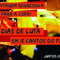 Nossa contagem regressiva para a Copa será lutando por direitos!