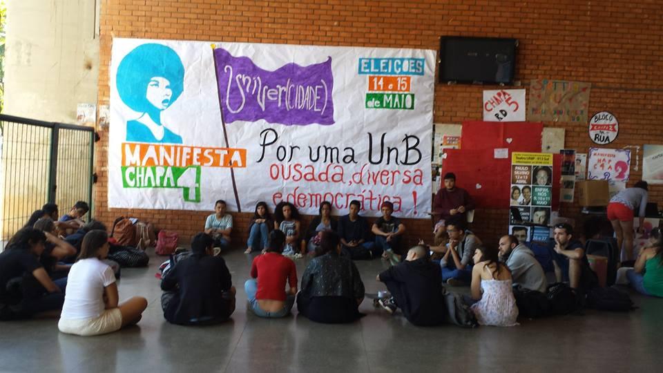 Manifesta UnB! Sigamos juntos, em defesa de um novo projeto de universidade!