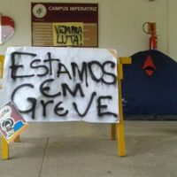 Estudantes da UFMA – Campus Imperatriz em GREVE