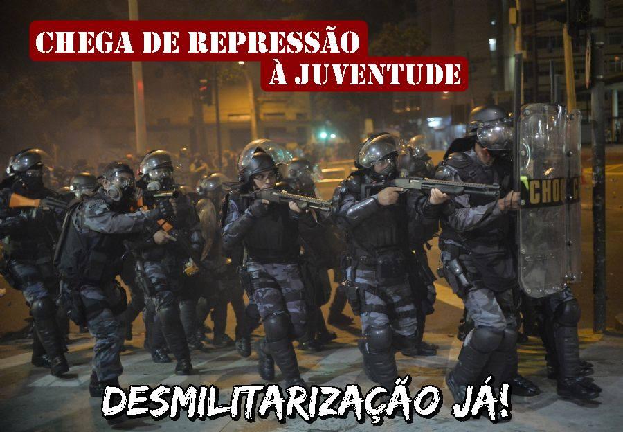 A violencia policial não passará!