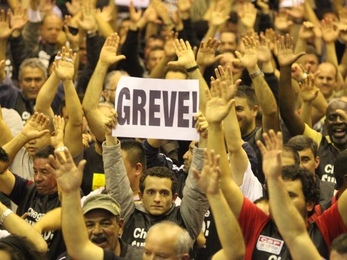 A greve dos metroviários precisa vencer! Nossa solidariedade é um dever!