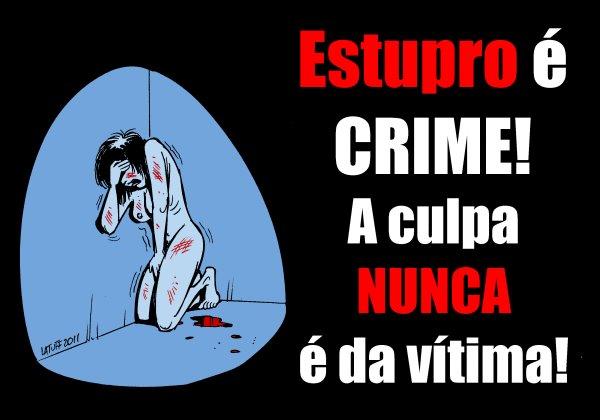 Pelo fim da violência contra a mulher lutamos JUNTAS!