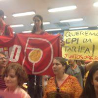 Contra a criminalização da luta em Campinas