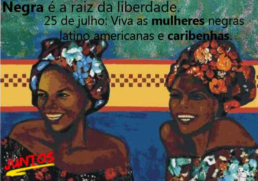 Negra é a raiz da liberdade