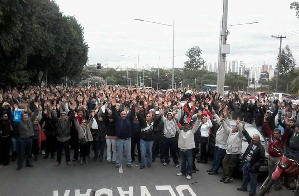 O Reitor da USP quer colocar a PM para acabar com a greve dos trabalhadores!