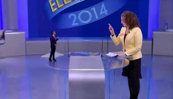 Sobre o debate da Globo: 1% é uma ova. 50 no dia 5 de outubro!