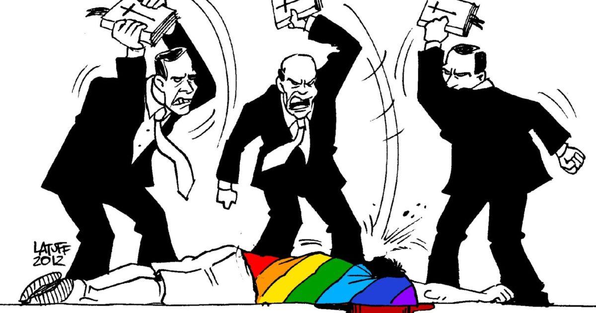LGBTTfóbicos não passarão!