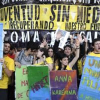 """""""O Podemos é a expressão política de uma mudança substancial na sociedade espanhola"""""""